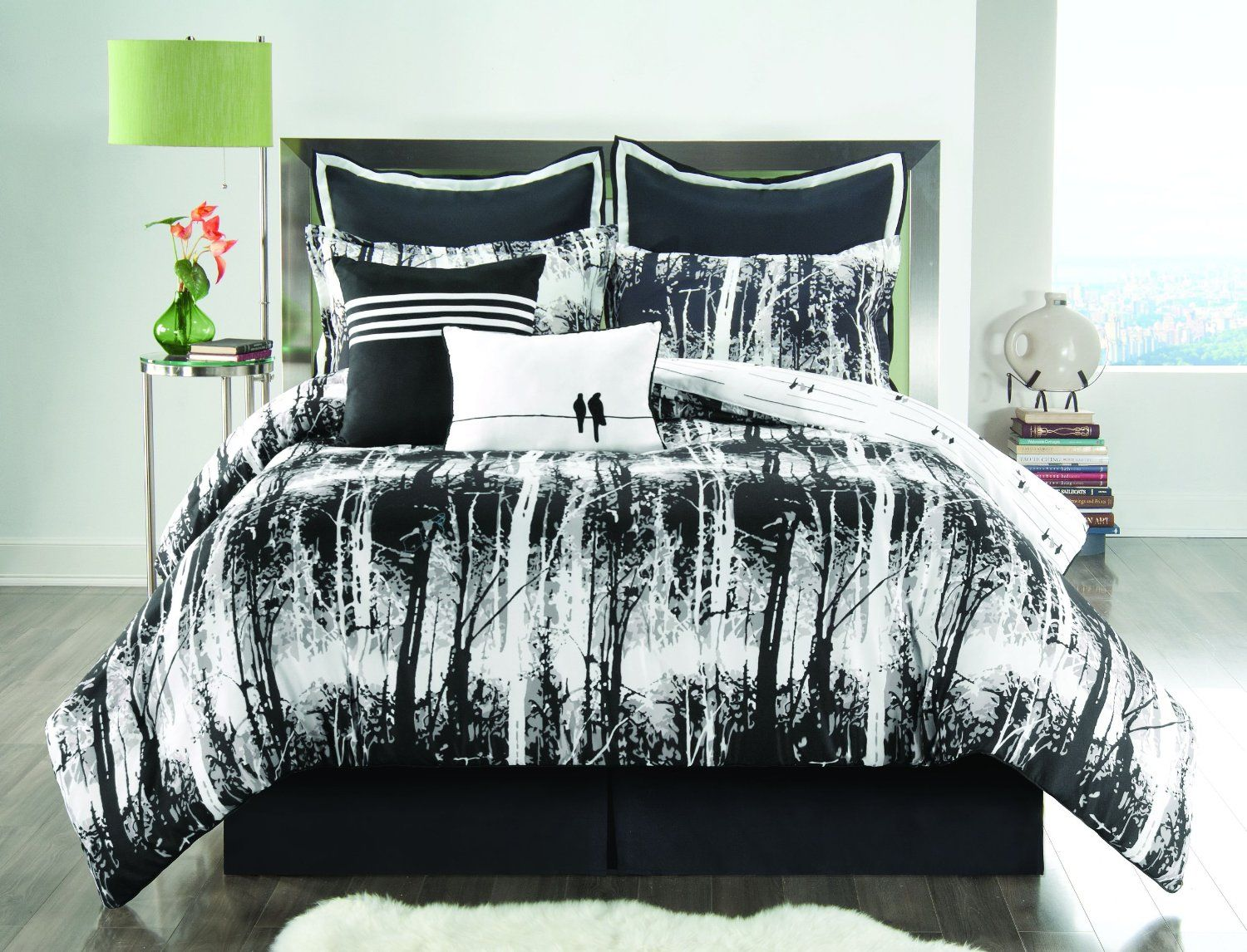 25 Awesome Bed Sets For Your Home | Black white bedding, Twin ... : black and white king quilt set - Adamdwight.com