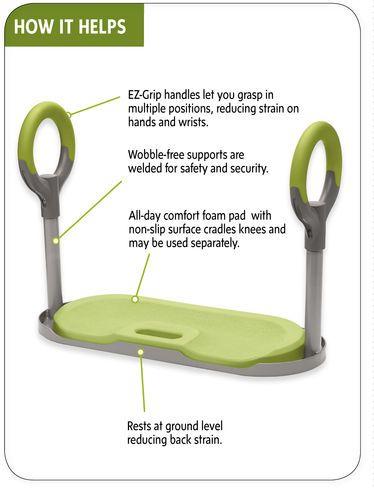 Ordinaire Garden Kneeler | GardenEase Kneeler | Kneeling Pad With Handles