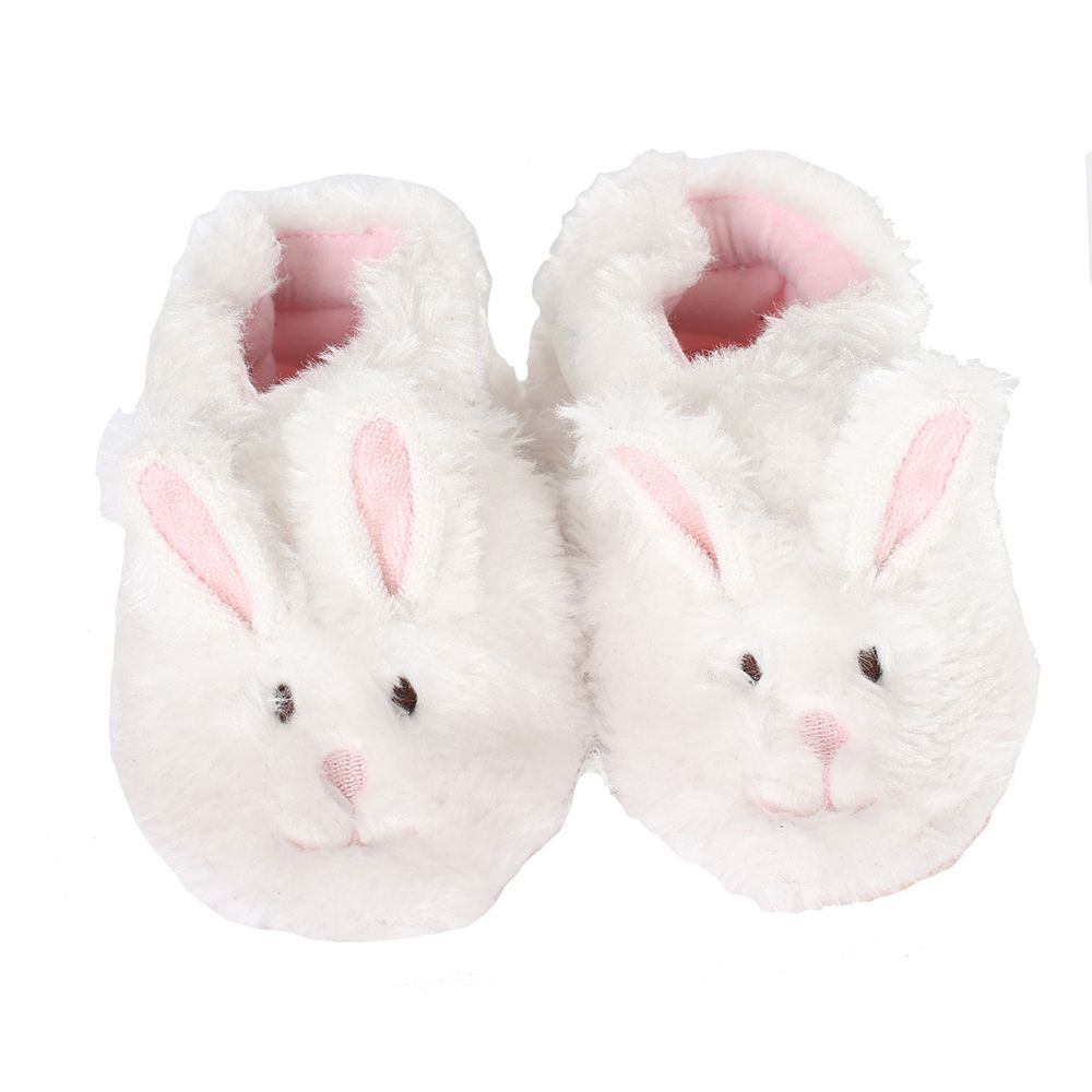 Fuzzy bunny slippers, Baby shoes newborn