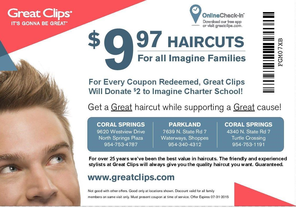 Great Clips believes that getting your hair cut should be easy, fun and fast. With Great Clips coupon codes, it's also extremely affordable.