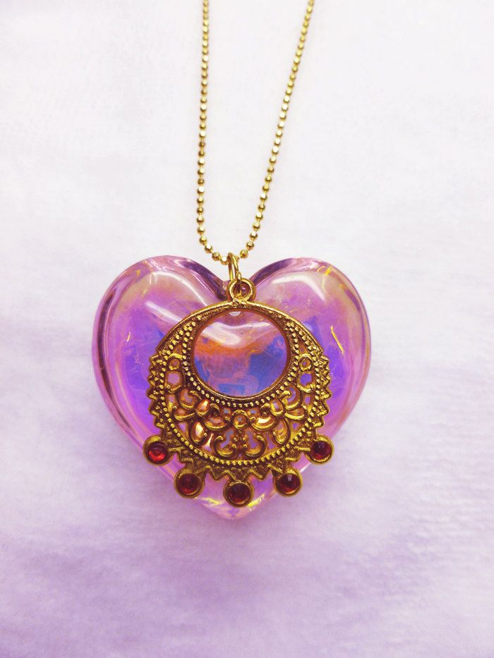 d0dd97969 Sailor Moon Inspired Real Glass Iridescent by FantastiquePlastique, $22.50  So pretty!!