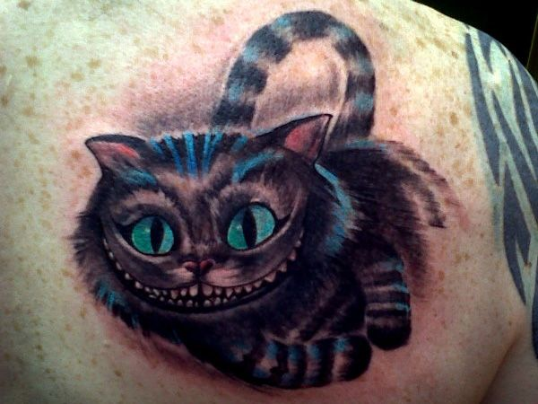 26 Staggering Cheshire Cat Tattoo Ideas Cheshire Cat Tattoo Wonderland Tattoo Cat Tattoo