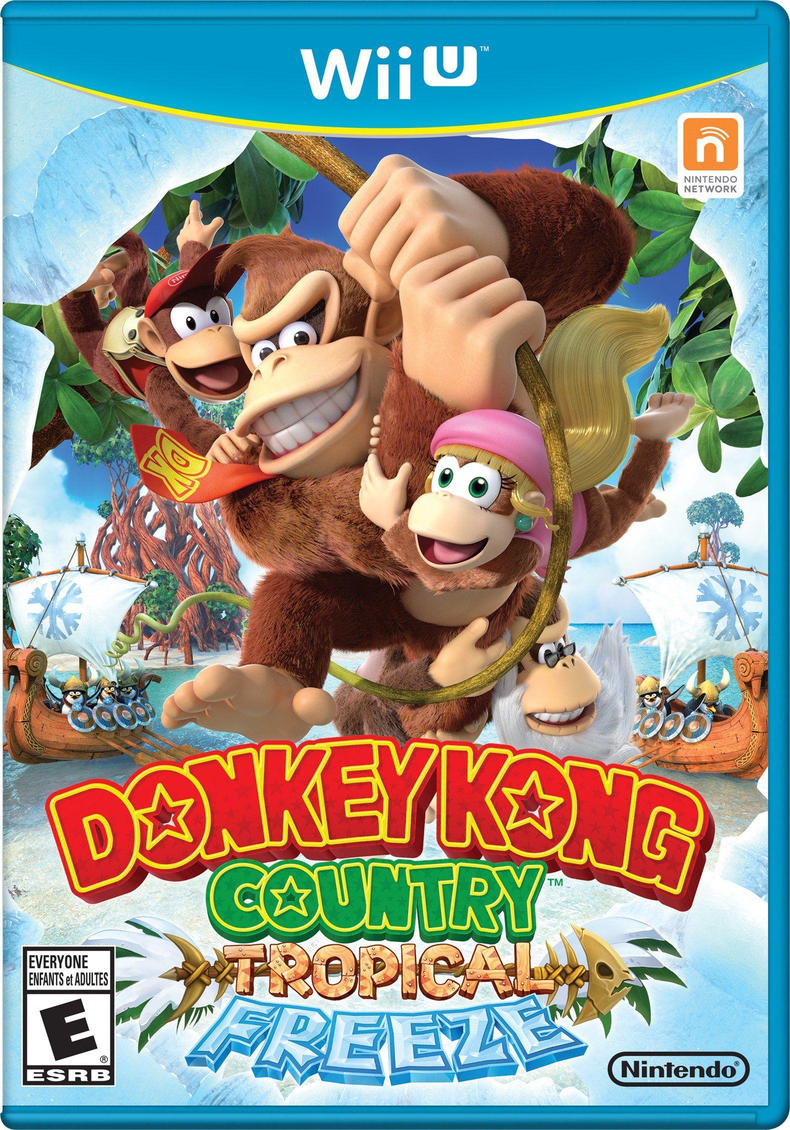 6591b616f368 Donkey Kong Country Tropical Freeze - Nintendo Wii U Korra