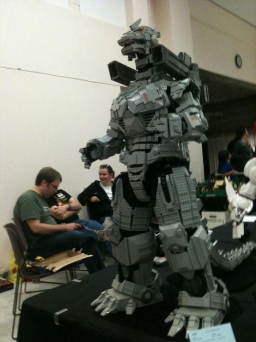 Lego MechaGodzilla   LEGO   Pinterest   Lego, Godzilla and ...