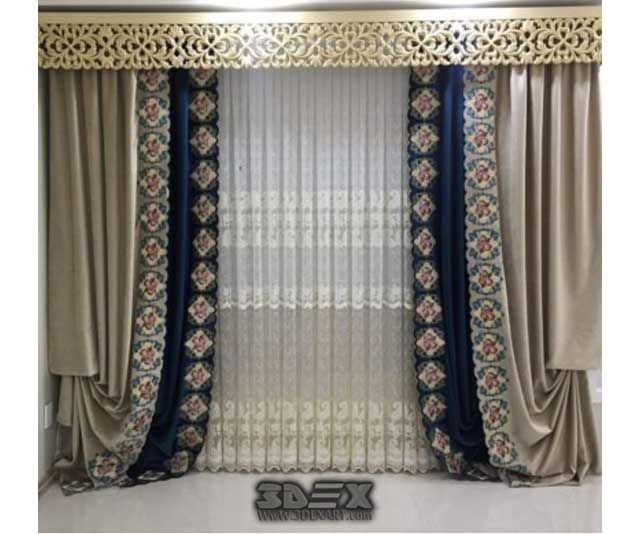 latest curtains designs for bedroom modern interior curtain ideas 2018 latest curtains designs. Black Bedroom Furniture Sets. Home Design Ideas