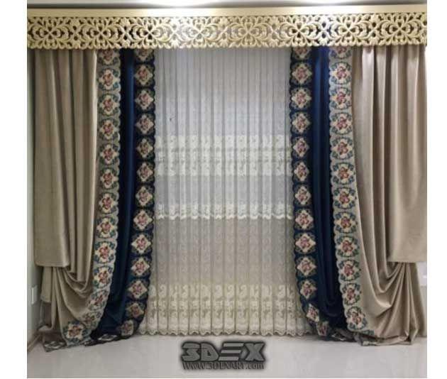 bedroom modern interior curtain ideas