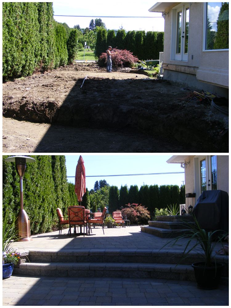 Removing and old deck and turf and replacing with an amazing two ...