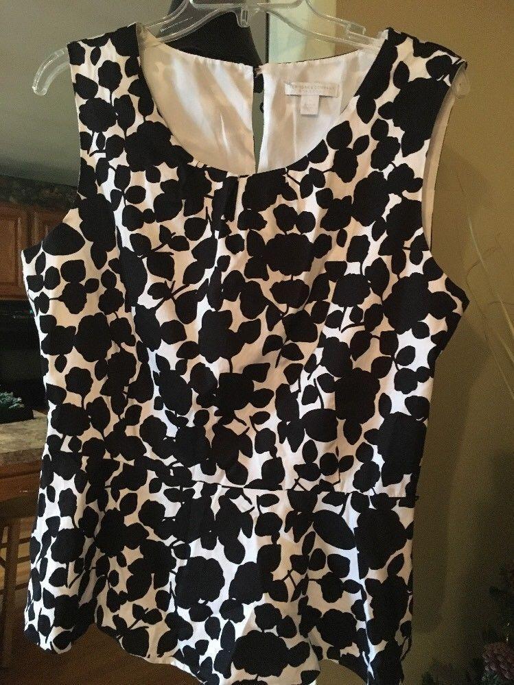 Womens Blouse Size Large New York Company Fashion Clothing
