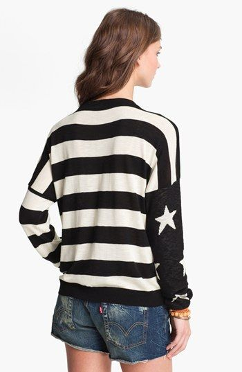 Truehitt Stars & Stripes Sweater (Juniors) (Online Exclusive) available at #Nordstrom  So fun!