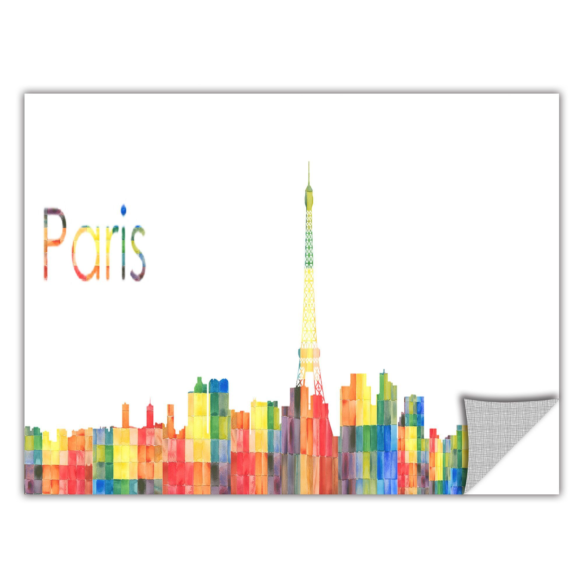 ArtApeelz 'Paris' by Revolver Ocelot Graphic Art on Wrapped Canvas