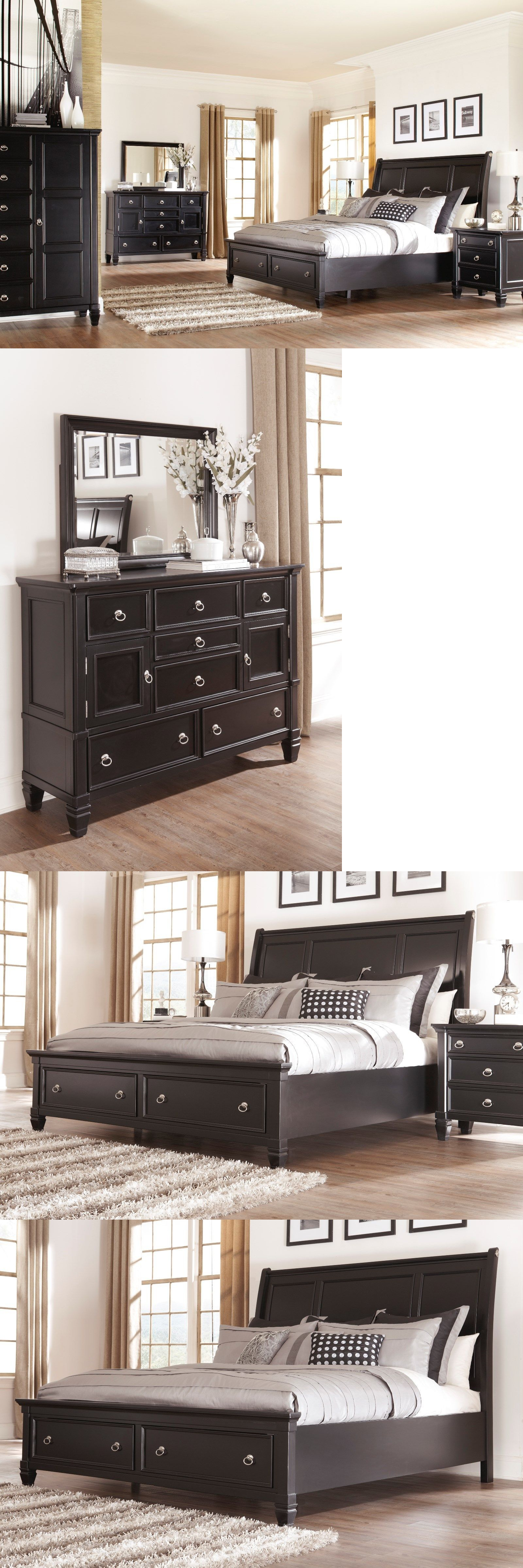 Bedroom Sets 20480: Ashley Greensburg 6 Piece Queen Bed Set W ...