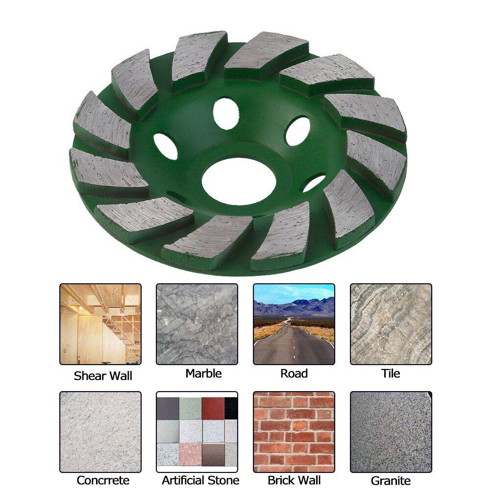 Buy Durable 100mm Diamond Grinding Wheel Concrete Cup Disc Concrete Masonry Stone Ja55product Ranting Original Price Us Shop Display Masonry Storage Shelves