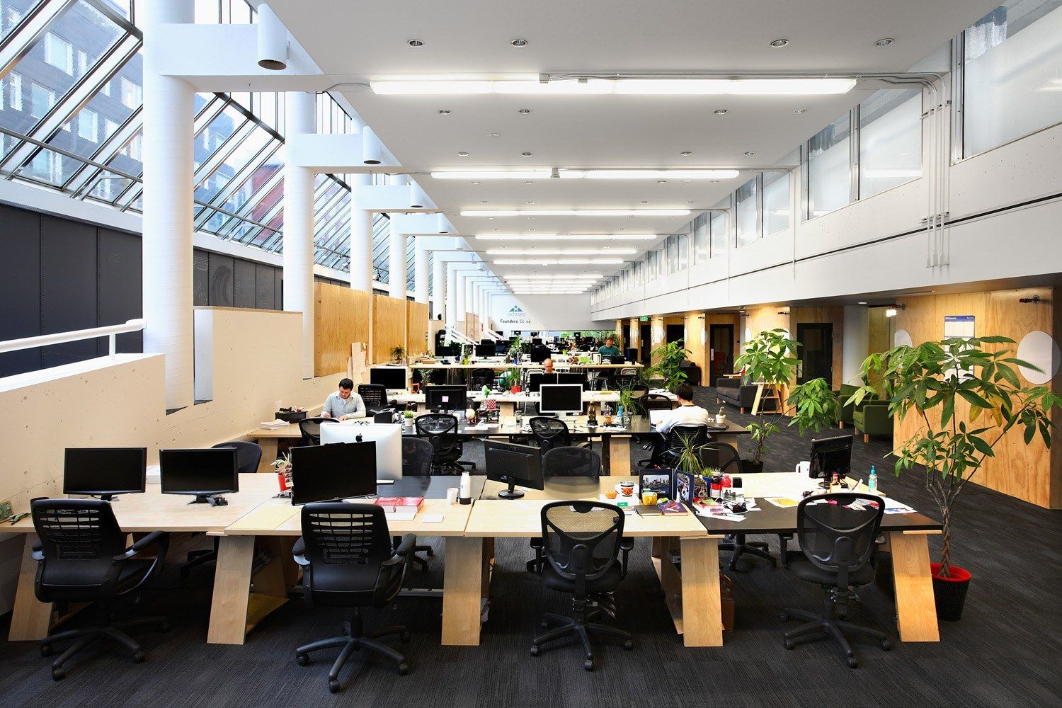 A Tour Of Startup Hall Modern Architects Open Office Office Design