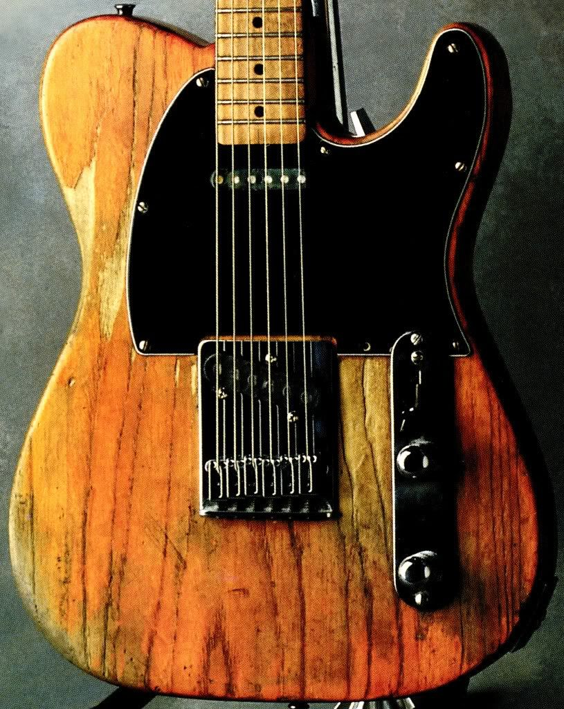 Bruce Springs S Iconic 50 Era Fender Esquire Often Mistaken As A Telecaster