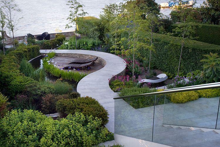 Putney House Garden By Andy Sturgeon Landscape Garden Design Modern Landscape Design Modern Landscaping Modern Garden Design