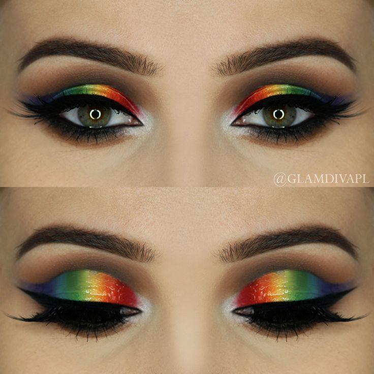 8 Makeup Tutorials That Are Perfect For Pride Pride Makeup