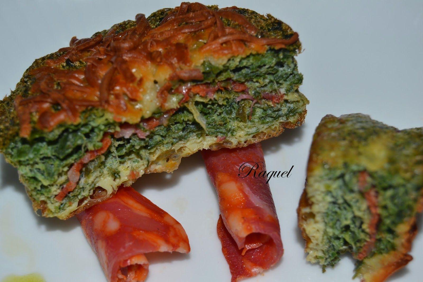 Mi Diversión en la cocina: Pastelitos de Tortilla con Acelga y Chorizo