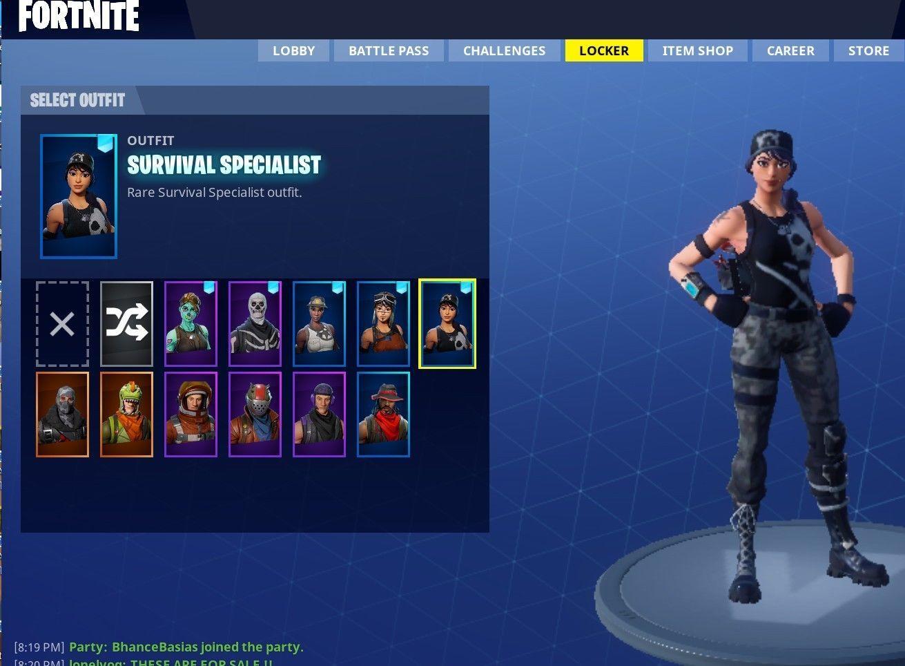 Fortnite Account Skull Trooper Ghoul Trooper Cheap Jh In 2019