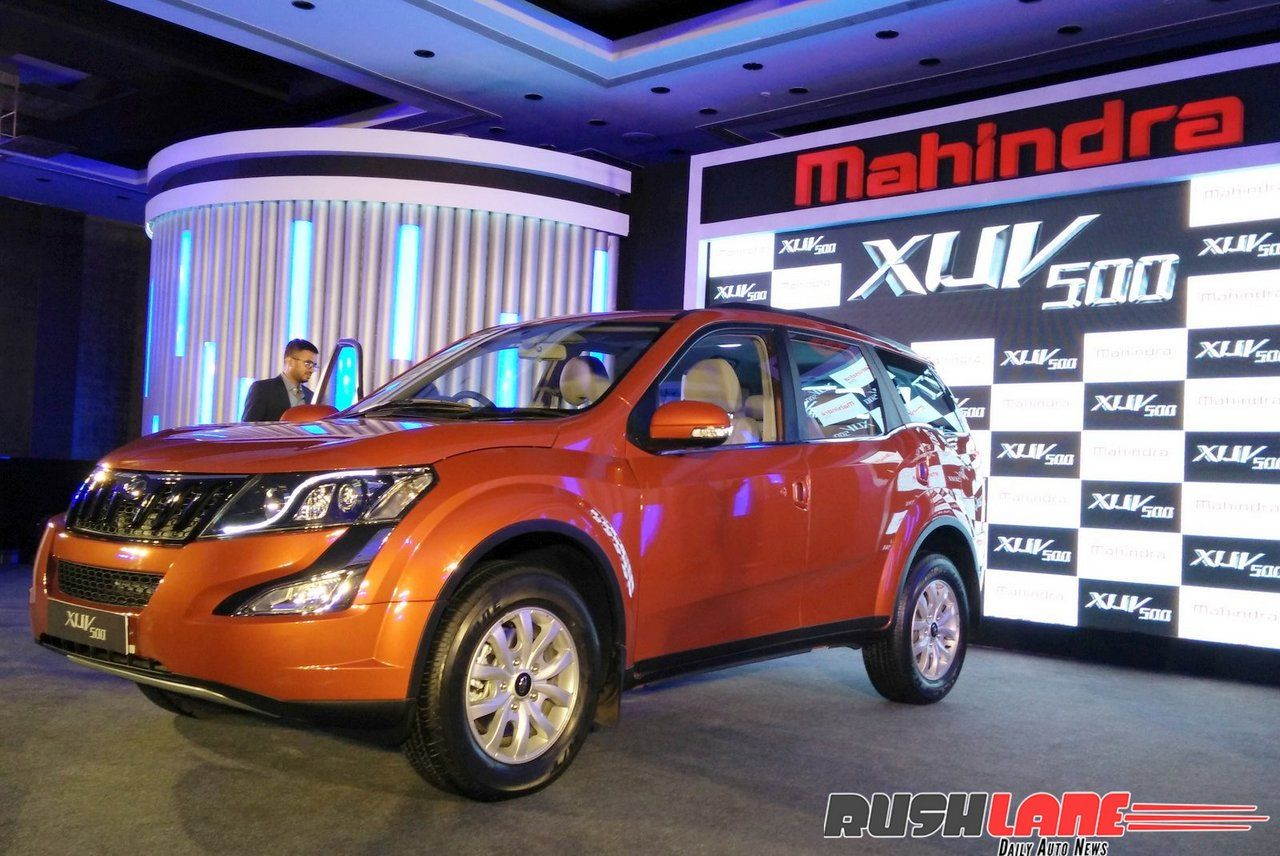 Mahindra xuv500 w10 launched in india