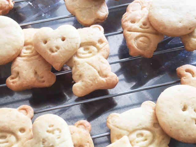 なし クッキー ベーキング パウダー