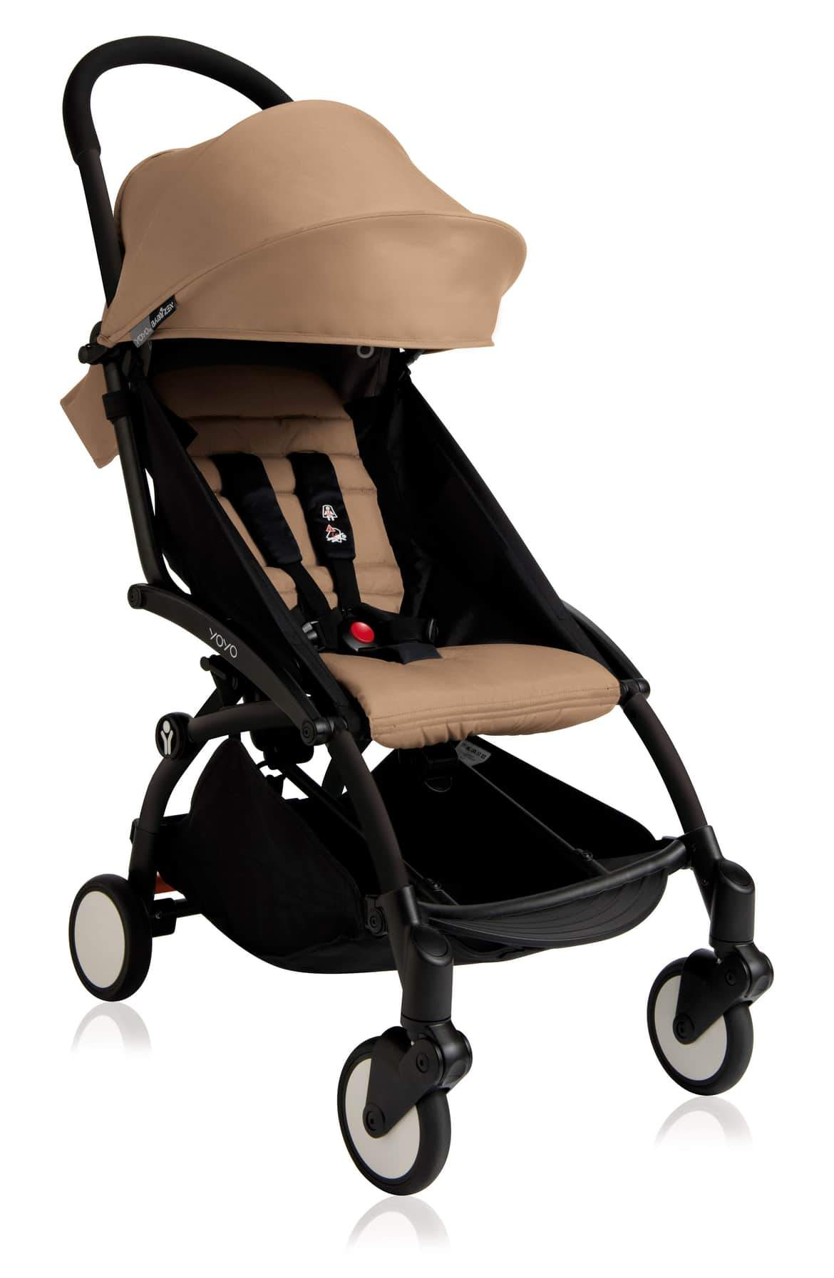 Stroller Black Frame Taupe BabyZen 2018 Yoyo