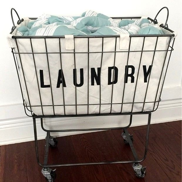Rolling Cloth Laundry Bin Laundry Room Laundry Cart Laundry
