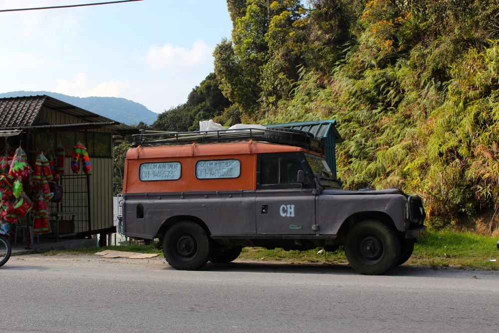 Land Rover Series in the Cameron Highlands, Malaysia