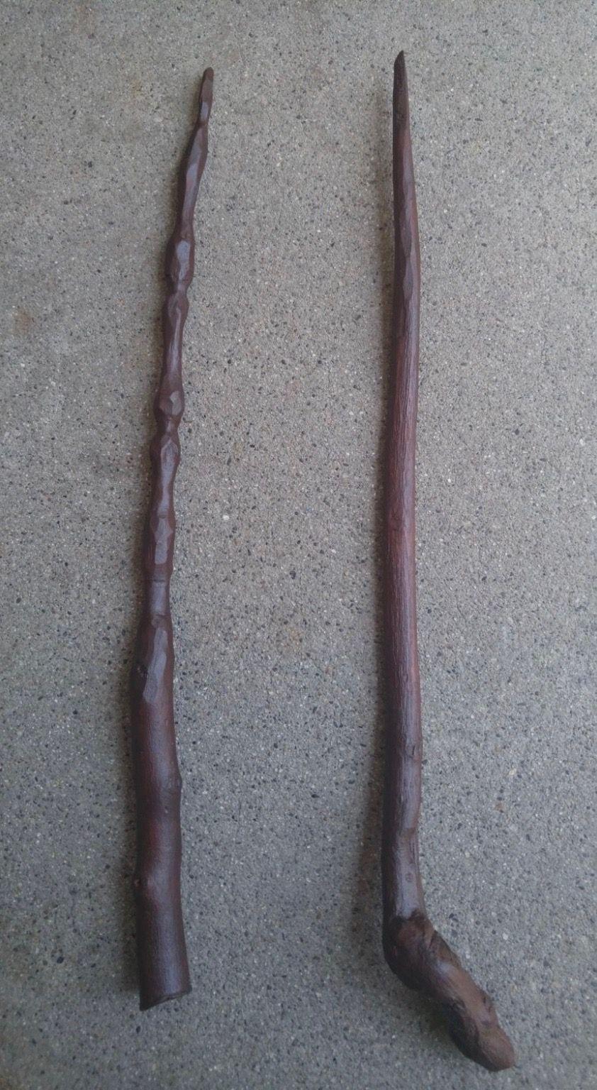 Hand carved wand 12 Manzanita wood from the Sedona Az area