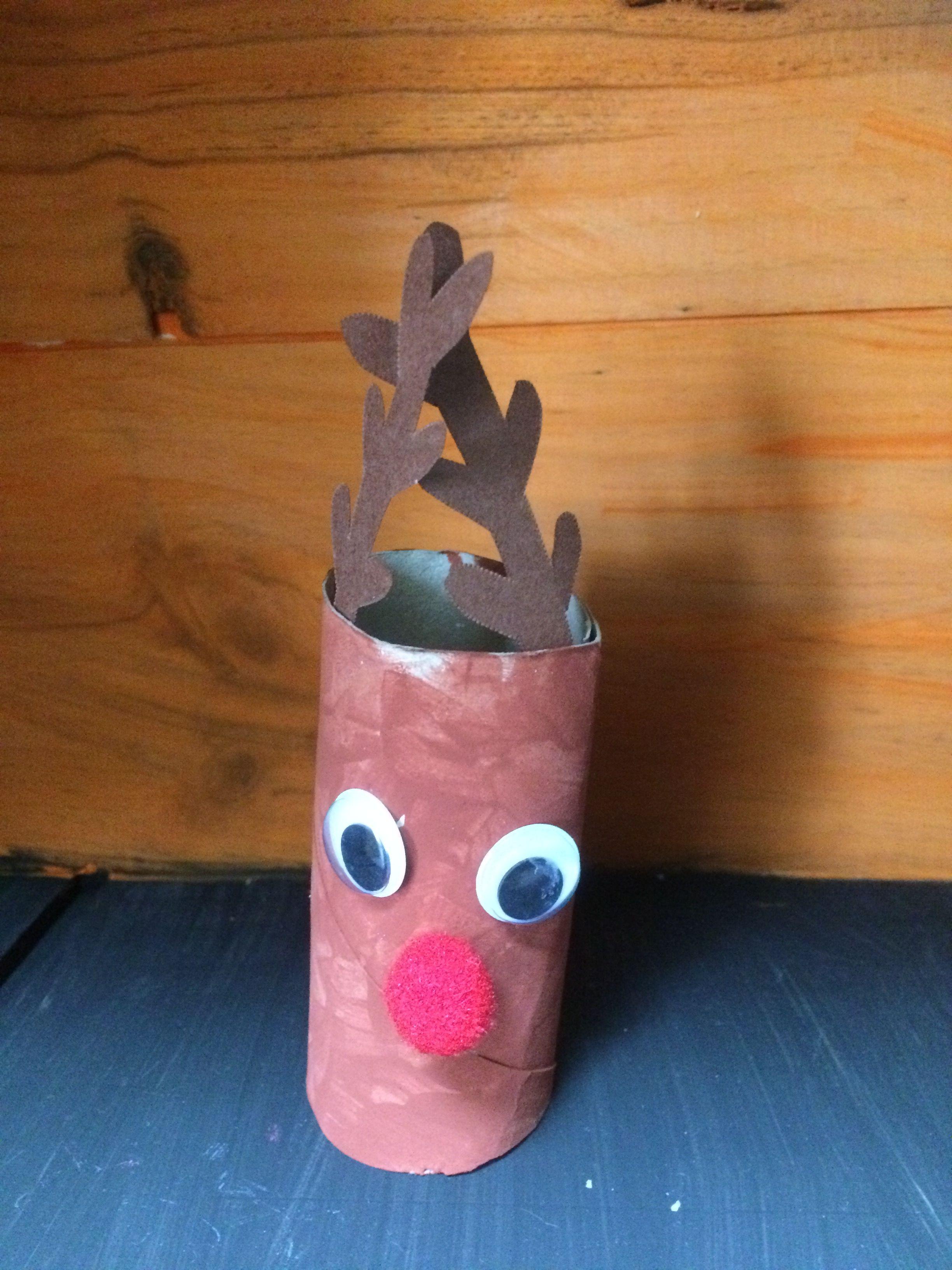 Bricolage de Noël en rouleau de papier toilette Jimdo
