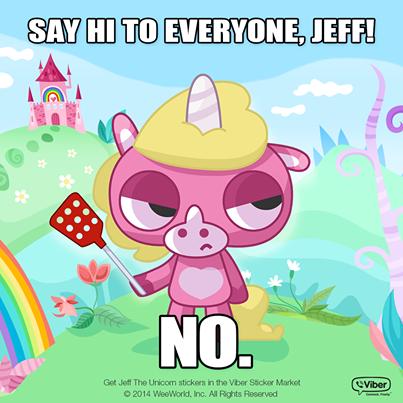 Jeff the unicorn