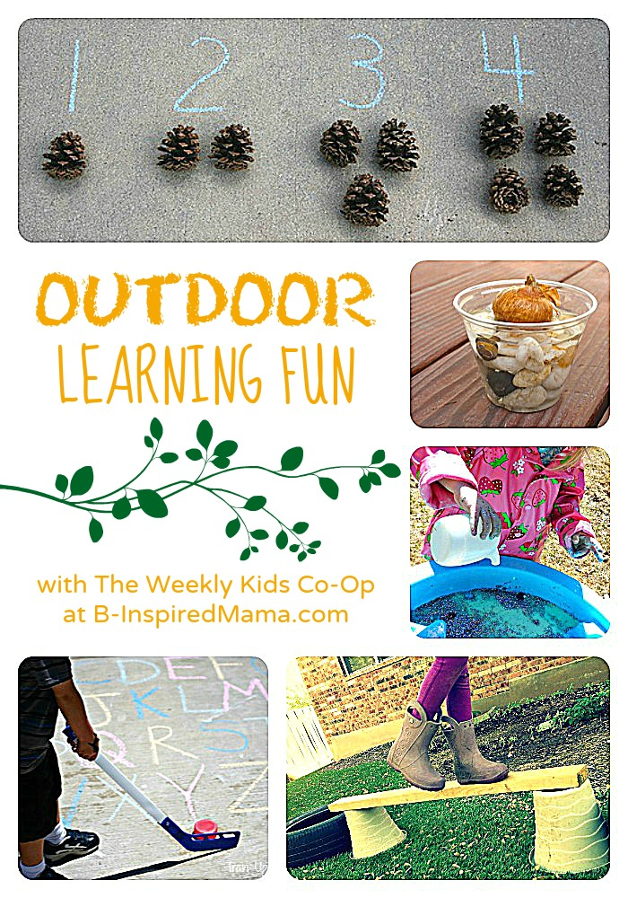 Awesome Outdoor Learning with The Weekly Kids CoOp
