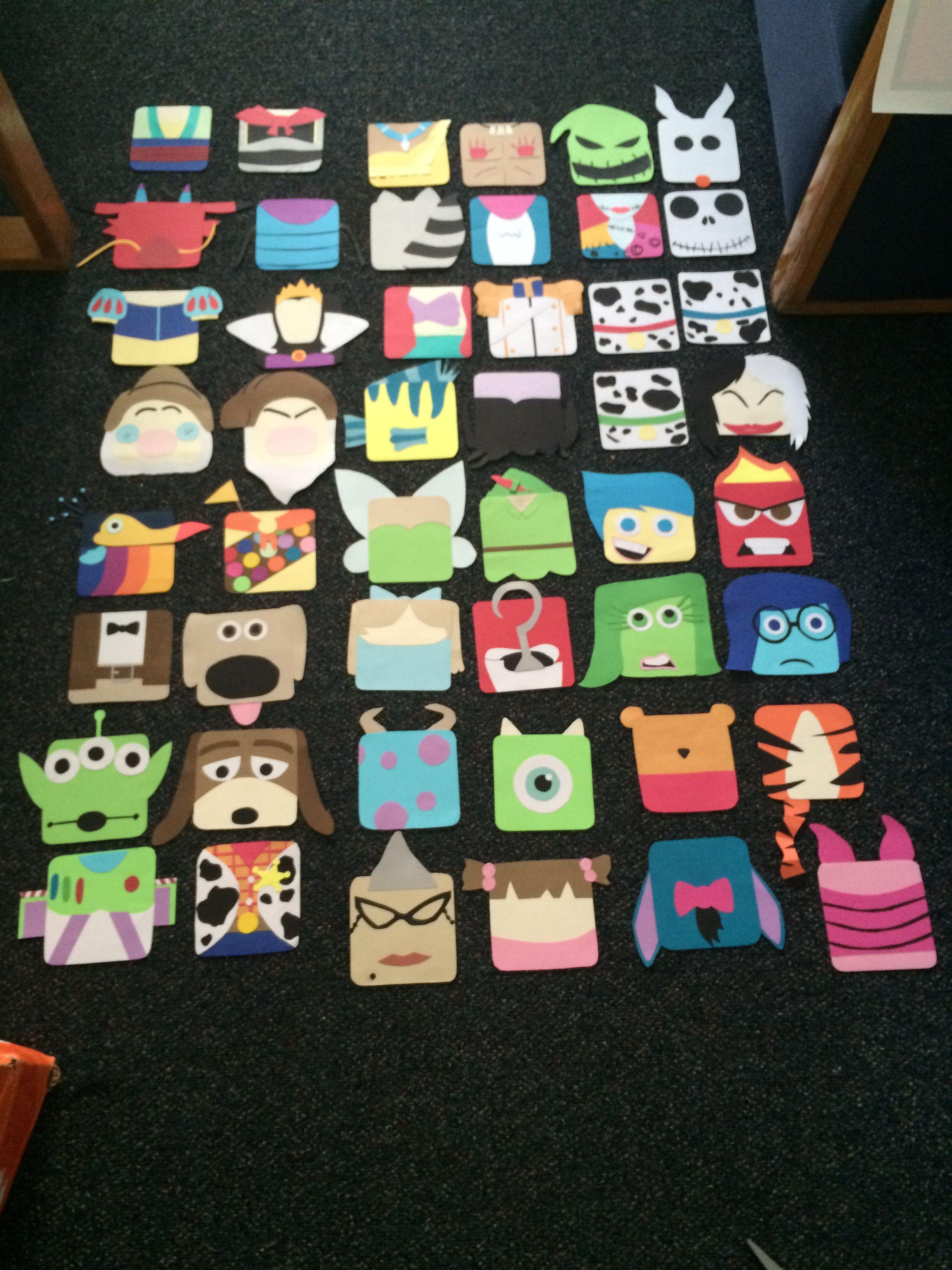 My Disney/Pixar door decs! (made entirely with card stock paper)   sc 1 st  Pinterest & My Disney/Pixar door decs! (made entirely with card stock paper ...