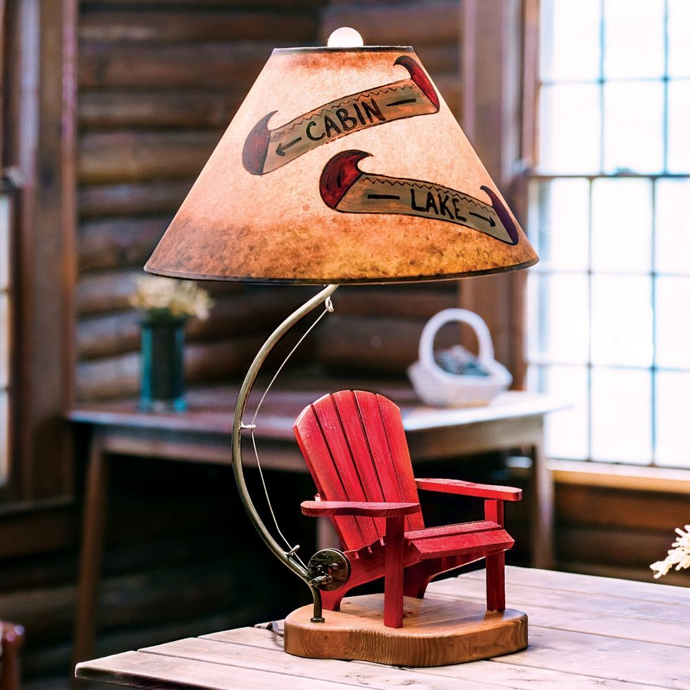 Elegant Cabin Themed Table Lamps