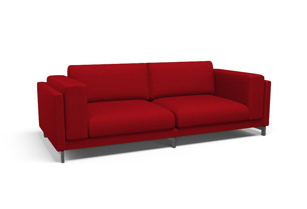 Cover For Nockeby Three Seat Sofa Vincent Red