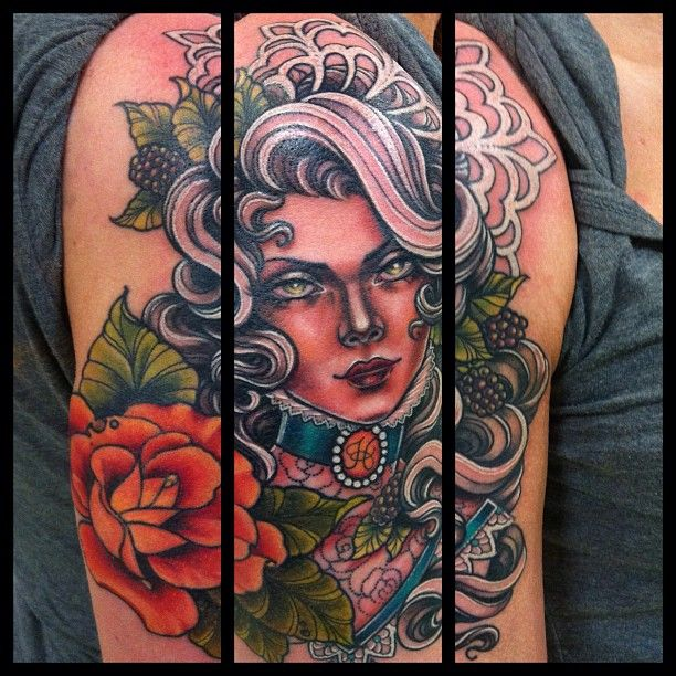 Tattoo Artists In Melbourne: Tattoo By Taniele Sadd From Korpus Tattoo In Brunswick