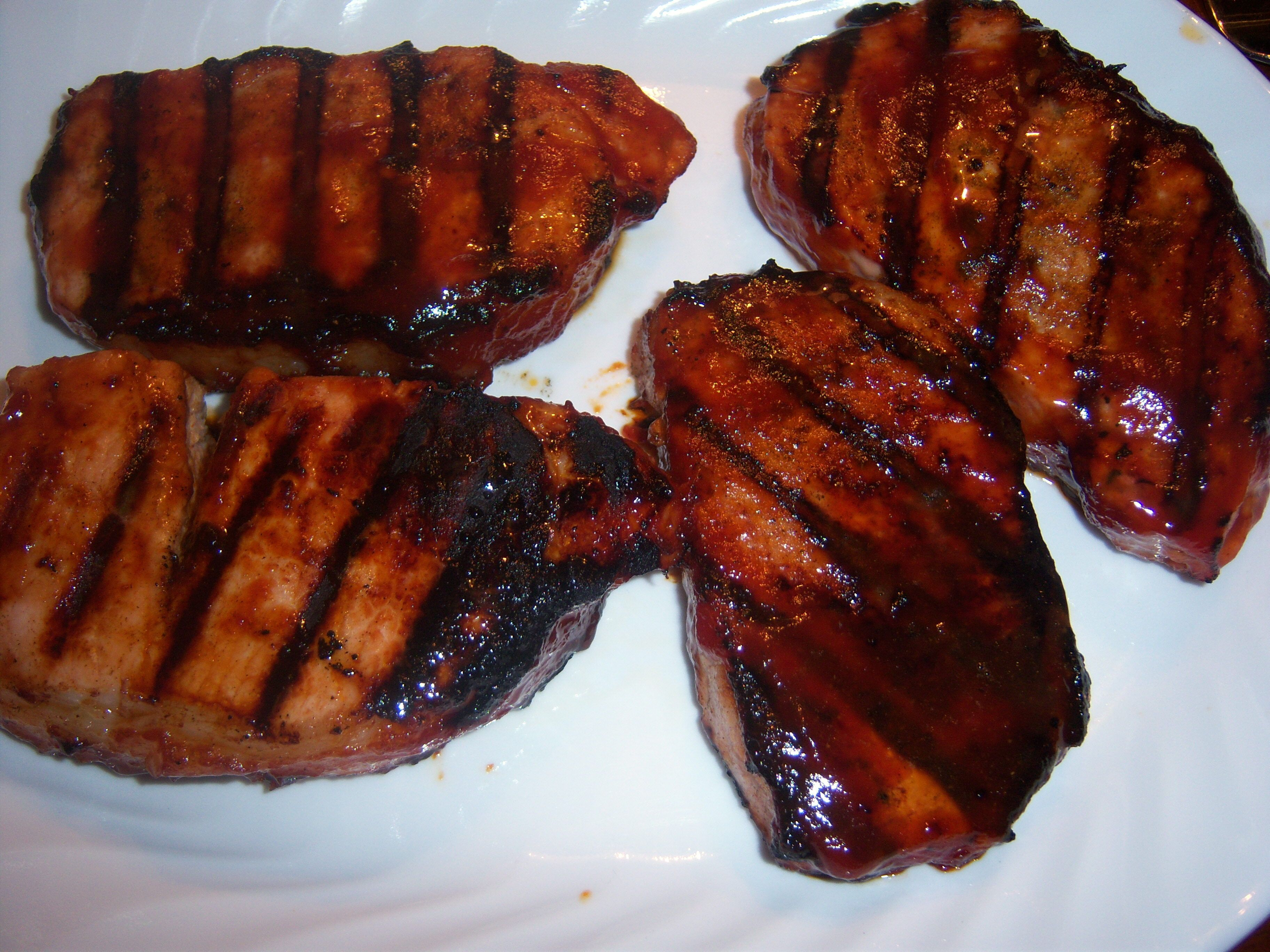 Ingredients: 34 Bonein Pork Chops (1 Lb), · Microwave Grillmicrowave