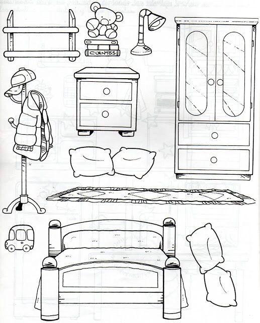 картинки раскраски дом мебель интернет-магазин фотопечатник