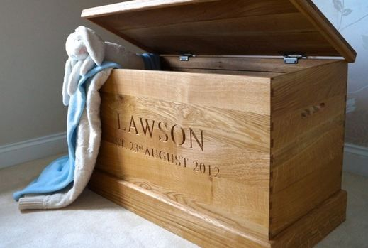 Engraved Toy Box Makemesomethingspecial
