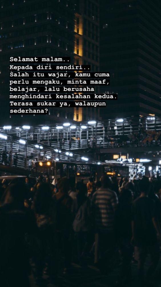 Pin Oleh Syifa Aghnia Di Kutipan Indonesia Kutipan Tumblr