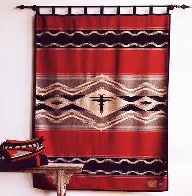 How To Hang A Pendleton Blanket Blanket On Wall