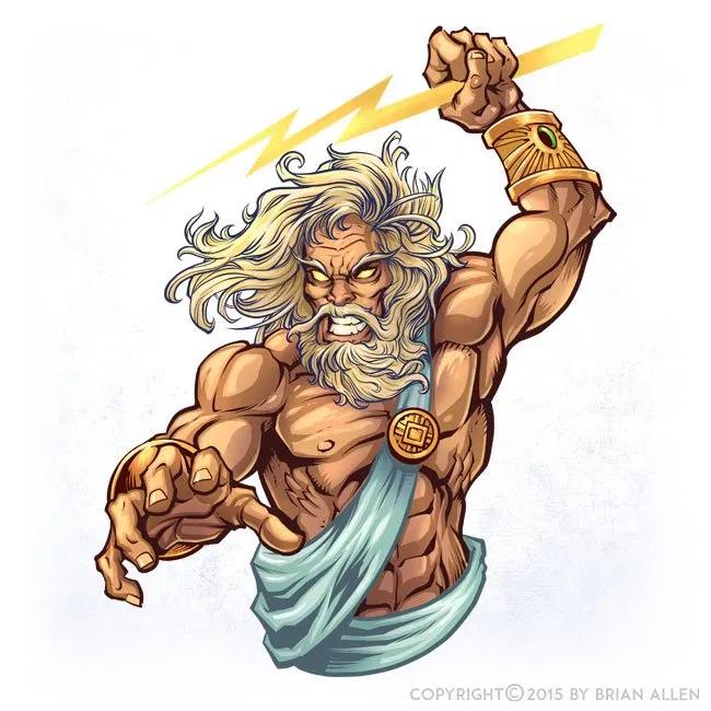 Zeus Character Design   Tatouage zeus, Tatouages de la ...