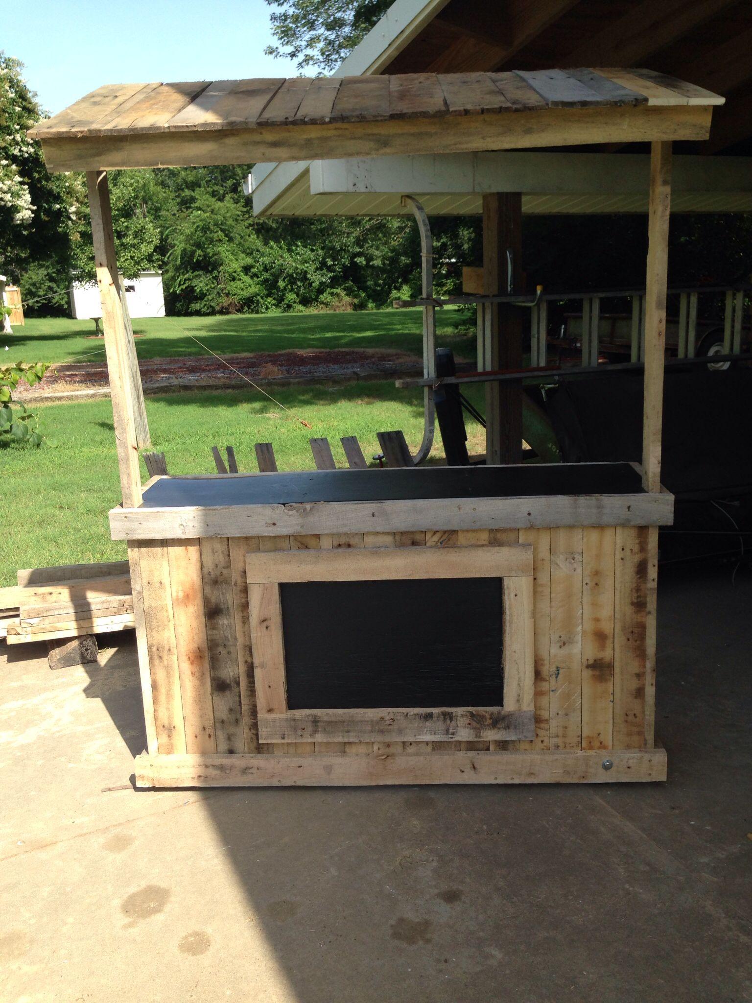 Lemonade Stand Pallet Wood. #noplans Projects