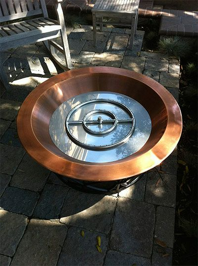 Glass Fire Pit Kits   Compete Connection Kit For Propane
