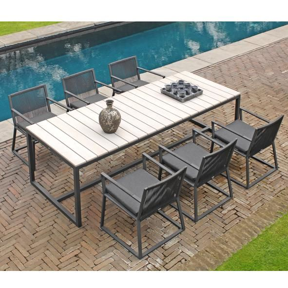 Borek Outdoor   Borek Lincoln Chair with Venice Table www ...