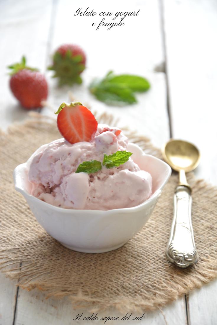 Photo of Gelato con yogurt e fragole senza gelatiera – Blog di Il caldo sa