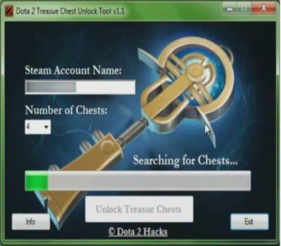 free dota 2 chest unlocker and hacks game hacks pinterest