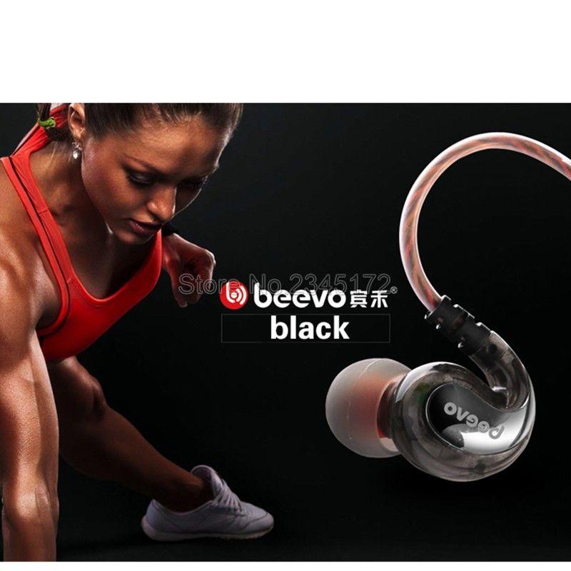 Beevo EM390 Earphone Original Brand Super Bass In-Ear Earphone Earbuds with Mic 3.5mm Hifi Go Pro Music fone de ouvido