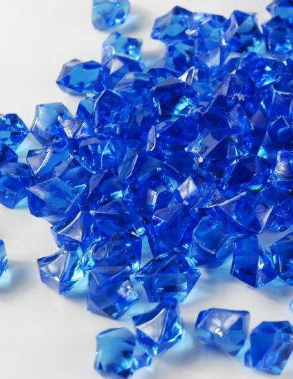 Table Scatter Vase Gems Blue 34 Lb 399 Each 3 For 299