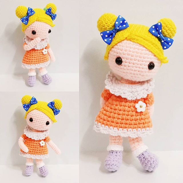 Cute girl DANA 5000팔로우 감사해요 . . #crochet#amigurumi#뜨개질#handmade#cotton#by_me#knitting#kawaii#crochetlove#wool#craft#yarn#iloveit#코바늘#일상#handcraft#pattern#madebyme#adorable#custom#손뜨개#취미#crochetdoll#코바늘인형#손뜨개인형#인형#귀요미#핸드메이드#dana