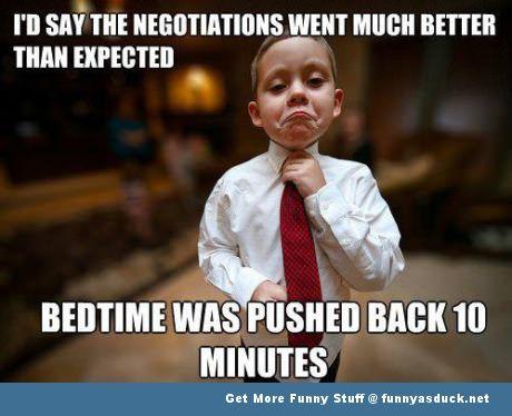 Fun Kid Meme : Bedtime negotiator fun pics bedtime memes and